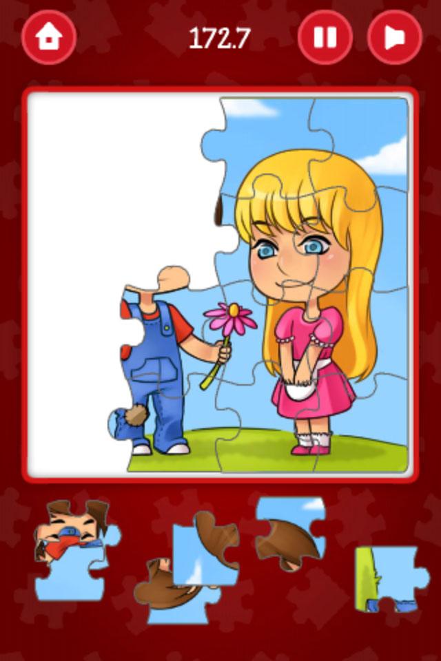 Screenshot Valentine's Jigsaw Puzzle